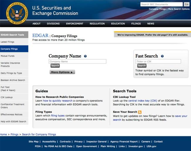 SEC site